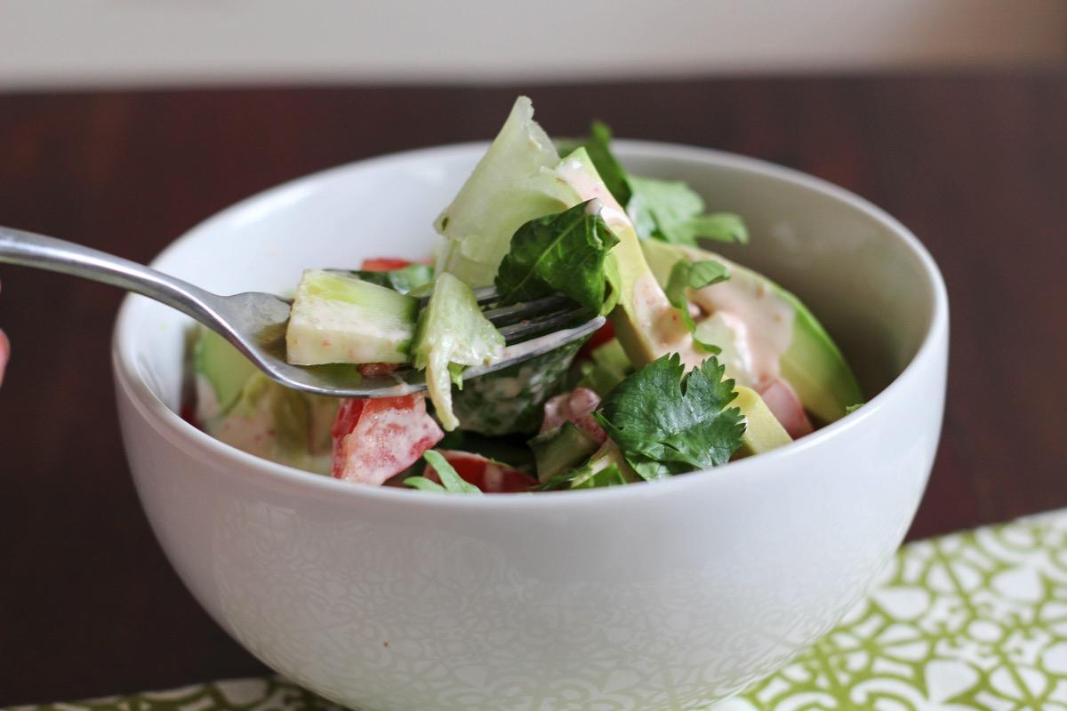 Breakfast salad 5