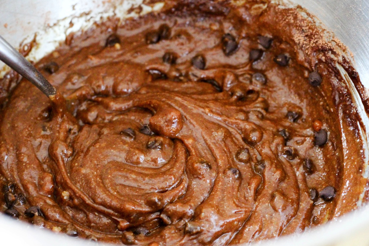 grain-free Brownie batter
