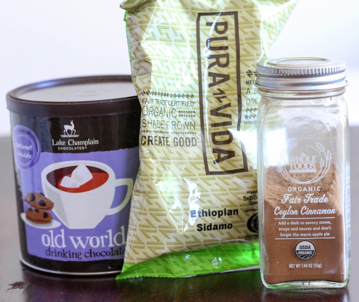 Fair trade ingredients