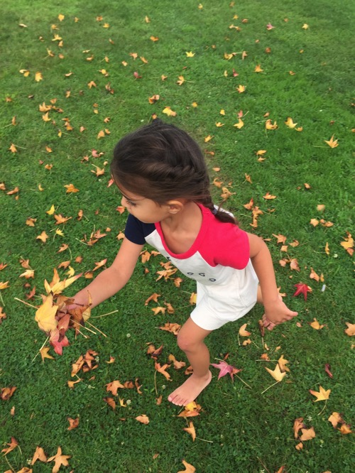 Livi and leaves
