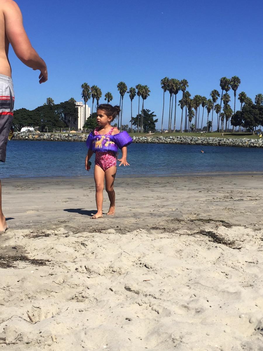 Livi at the bay