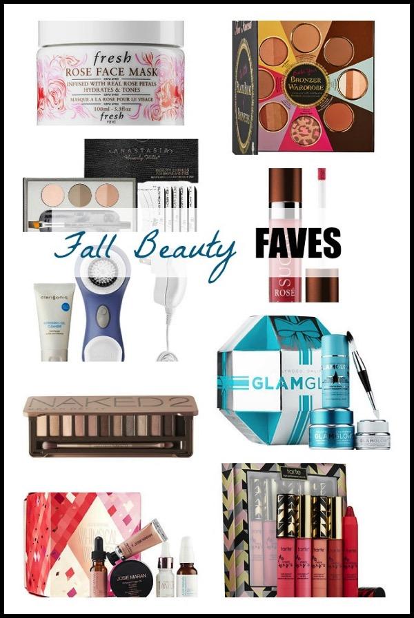 Fall beauty faves