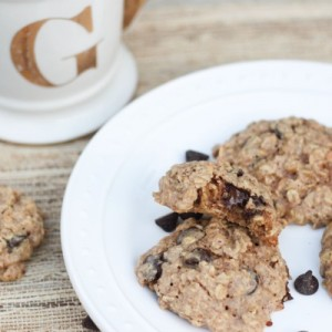 Soft and Healthy Oatmeal Peanut Butter Cookies