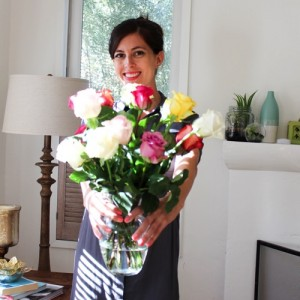 Fresh flowers from The Bouqs Company