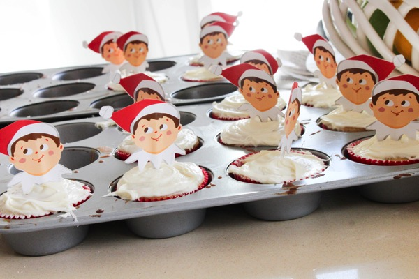 Elf cupcakes 2