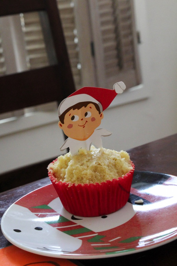 Elf cupcakes with missing icing
