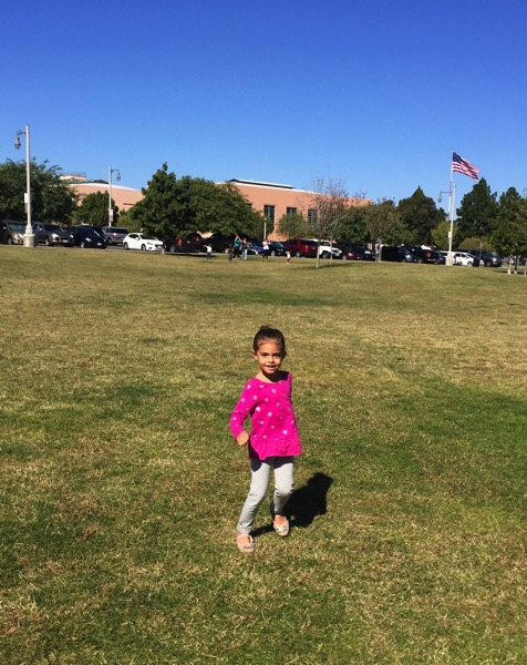 Livi at the park