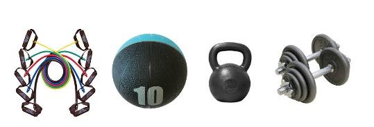 Strength training equipment for the home gym