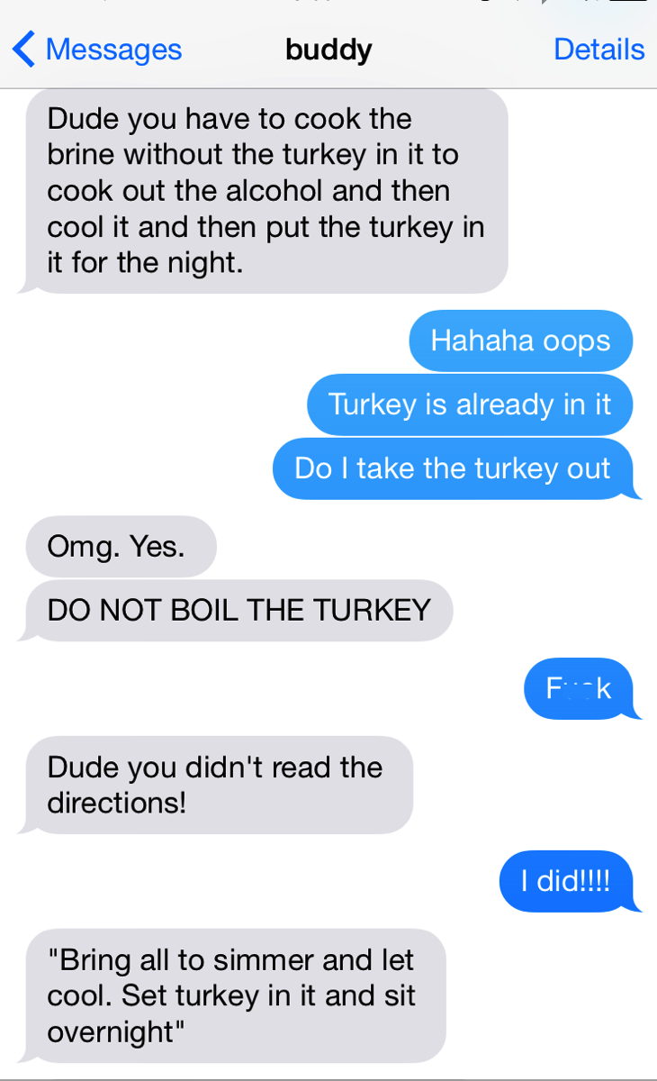 Turkey fail