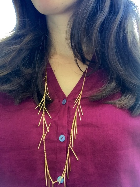 Fringe necklace Stitch Fix win