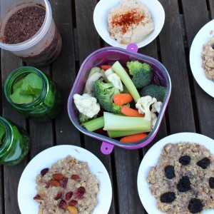 Plan and prep: one hour, $20, one week of clean snacks