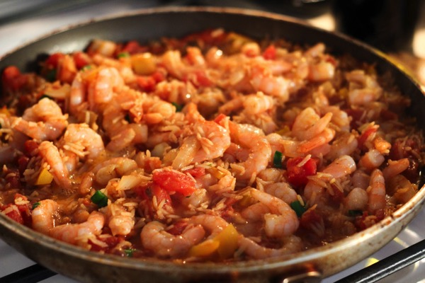 Shrimp perloo 2