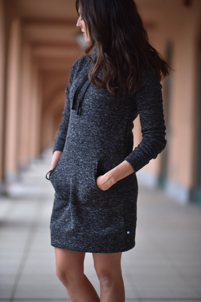 Sweatshirt dress 2
