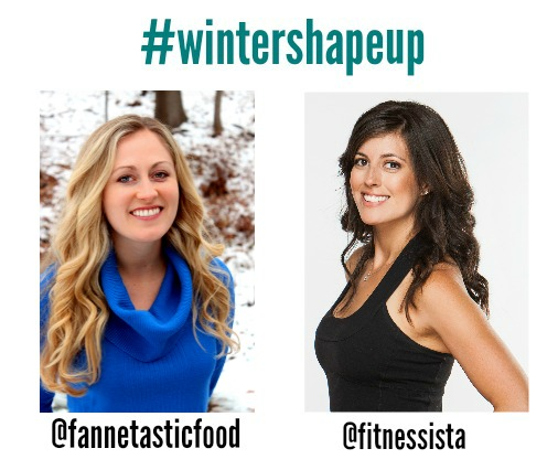 Winter shape up social media
