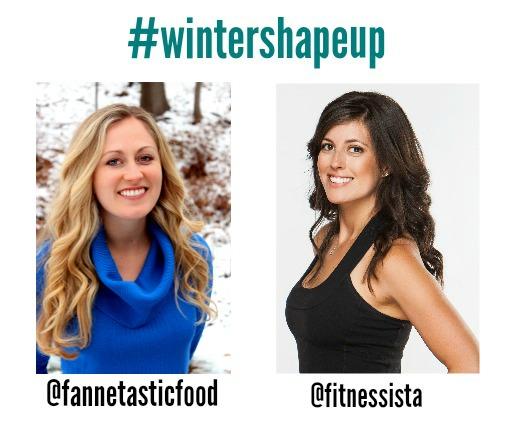 Winter shape up social media