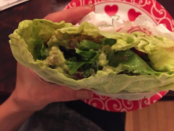 Cabbage burger
