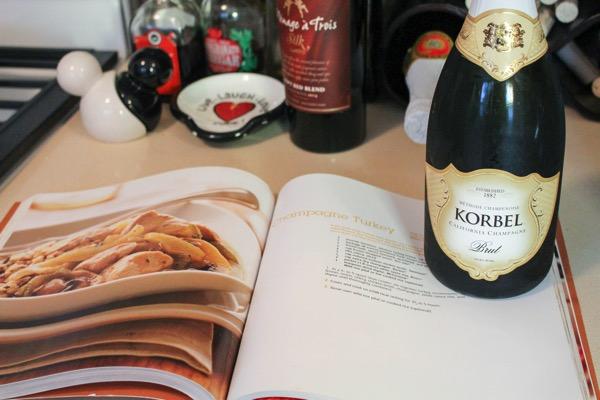 Champagne turkey