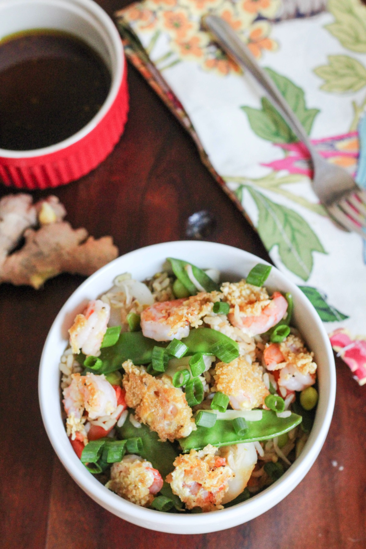 Crispy shrimp and rice 4