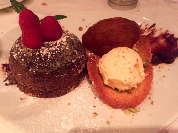 Dessert at flemings