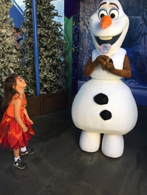 Livi and olaf