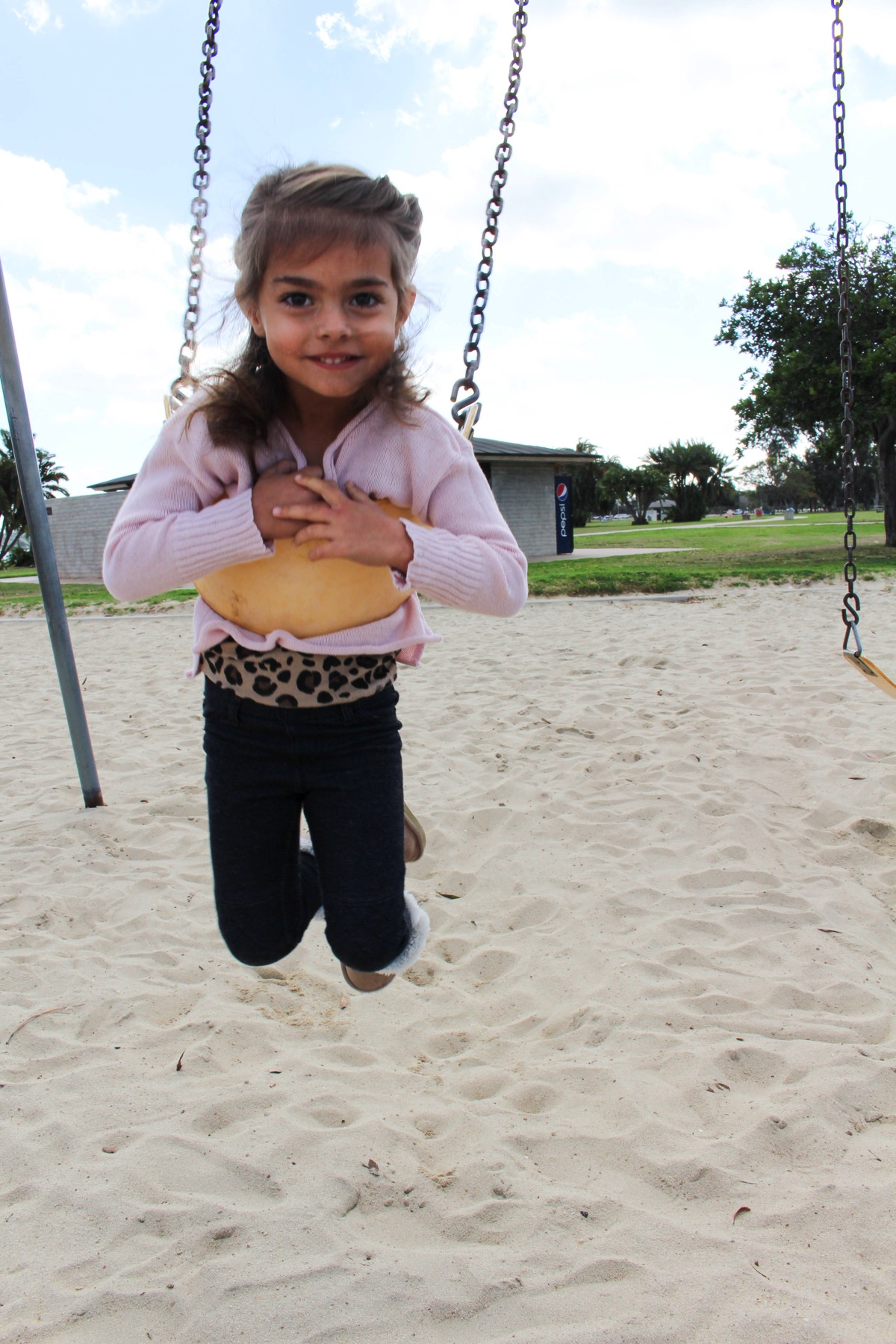 Livi swinging