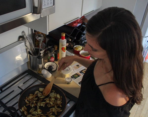 Cooking catfish