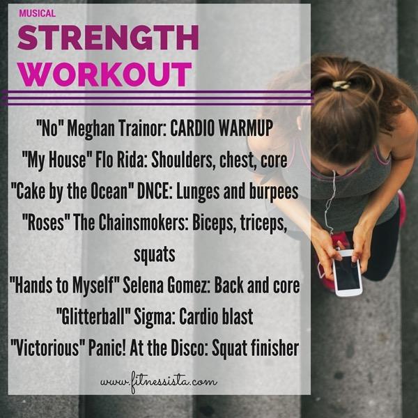 Musical strength workout