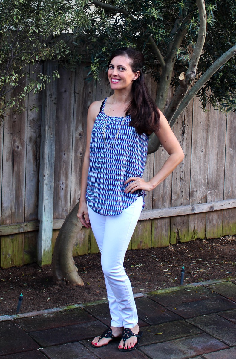 Printed cami Stitch Fix keeper