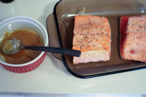 Honey Dijon Salmon