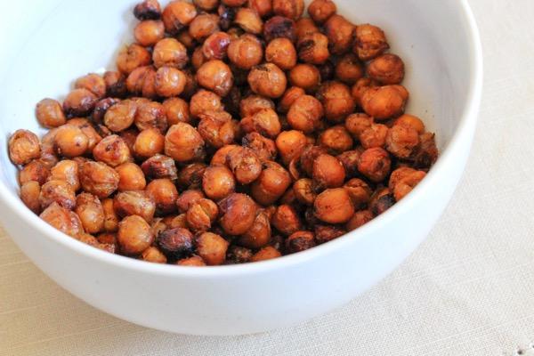 Bbq roasted chickpeas