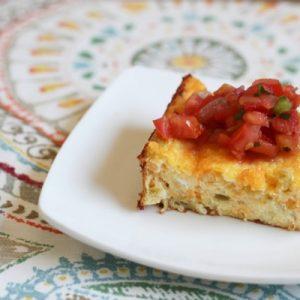 Nana's famous egg dish