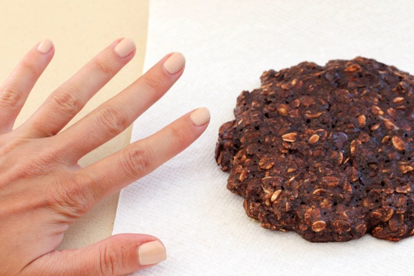 Healthy breakfast cookie for one 3