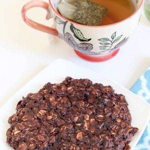 healthy baked breakfast cookie for one