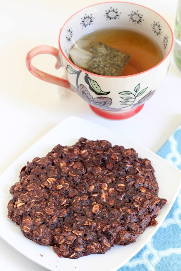 cookie for breakfast with tea