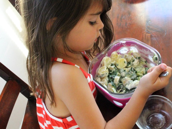 Livi cooking 2