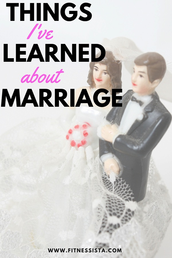 Things I've learned about marriage