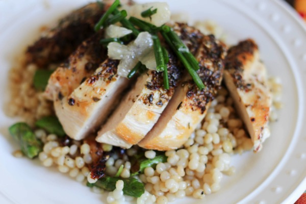 Zaatar chicken from Blue Apron