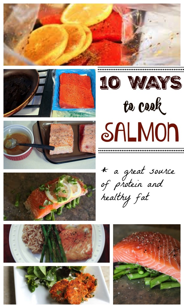10 ways to cook salmon