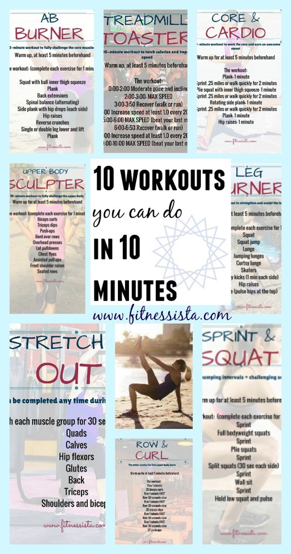 10 workouts you can do in 10 minutes