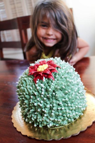 Cactus cake 2