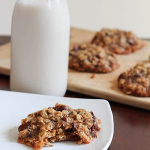 gluten-free chocolate chip cookies with avocado oil