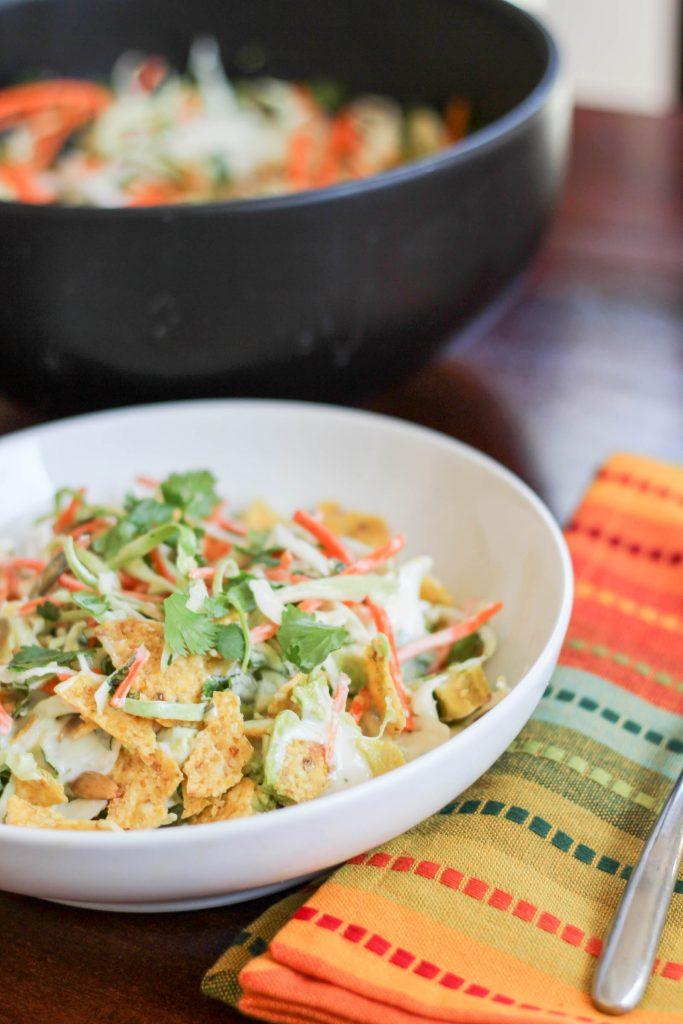 chopped southwest salad