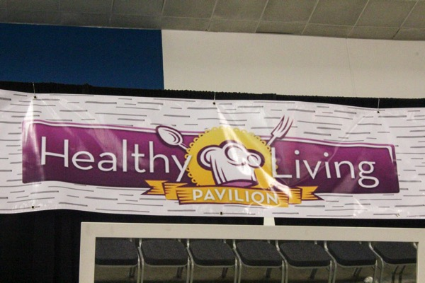 Healthy living pavilion