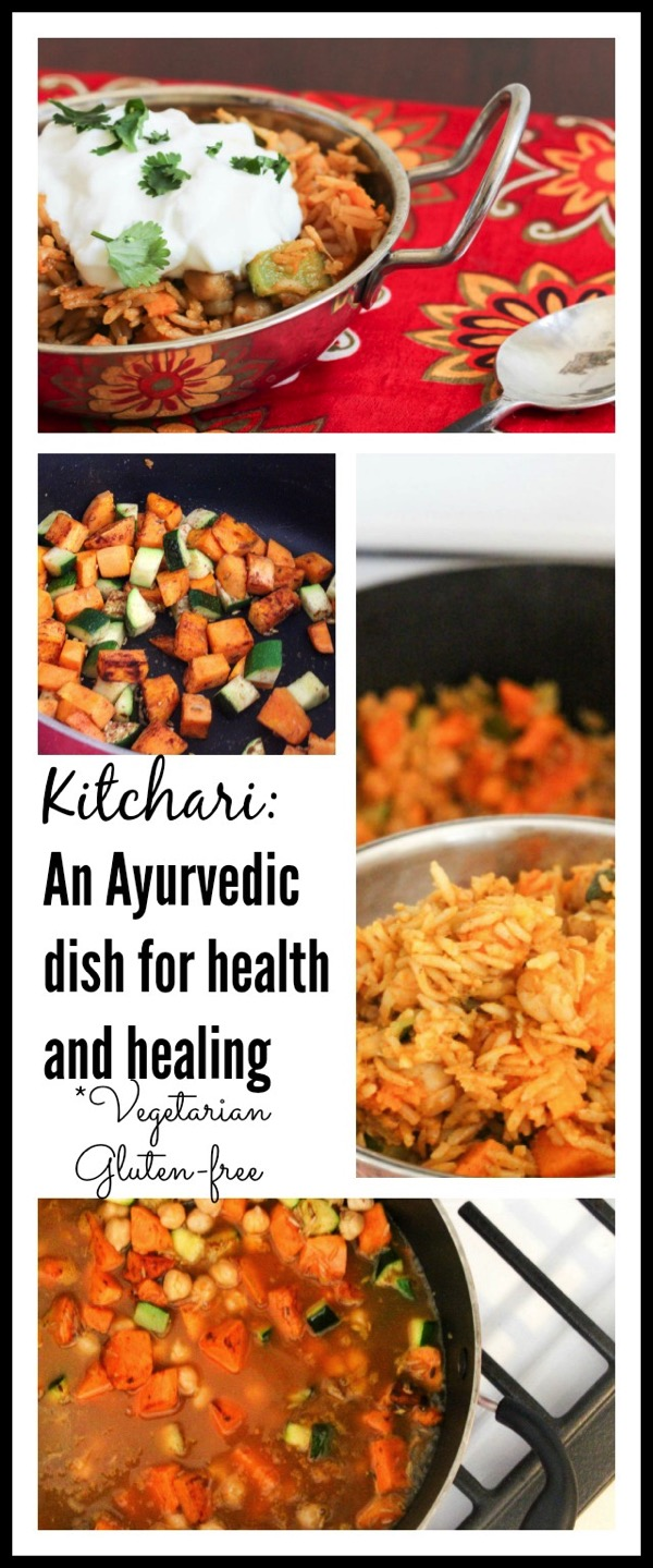 Make kitchari this is an ayurvedic dish for health and healing and is gluten free and vegetarian