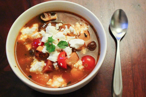 Quick veggie soup 2