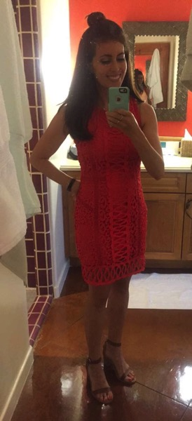 Stitch fix red dress