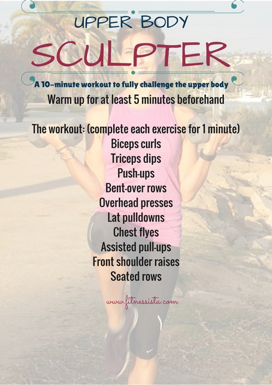 Upper body sculpter