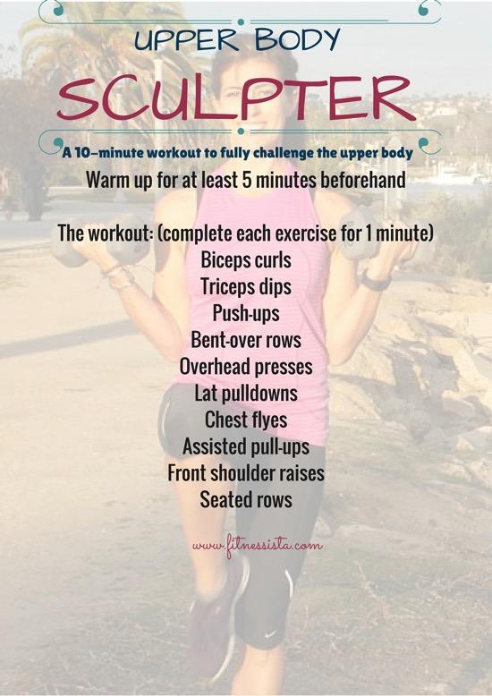 Upper Body Sculpter Workout