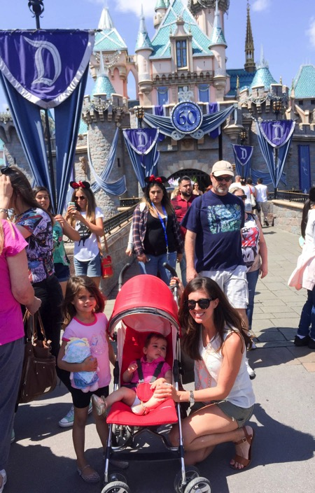 W the girls at disney