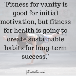 my thoughts on fitness for vanity